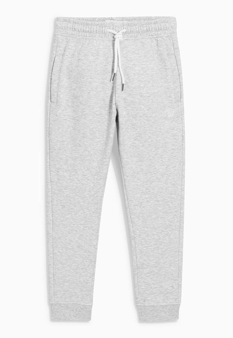 NEXT Pantaloni jogger gri deschis melange