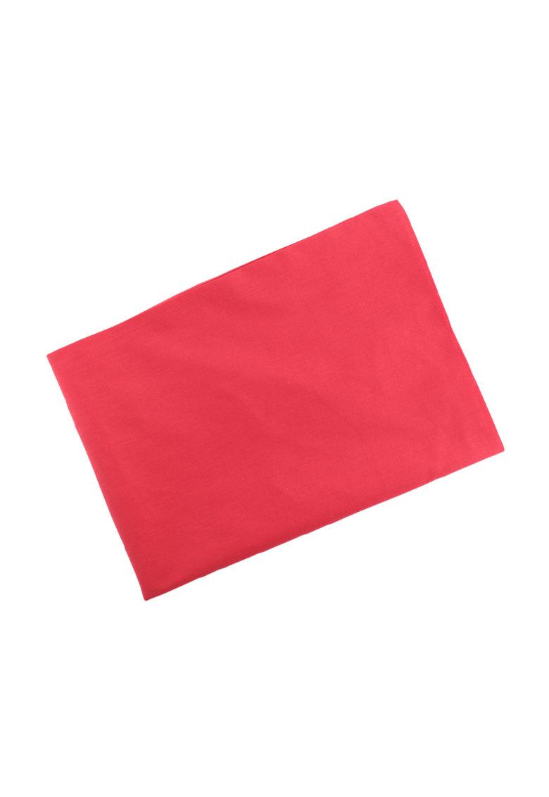 Cearsaf roz aprins cu elastic