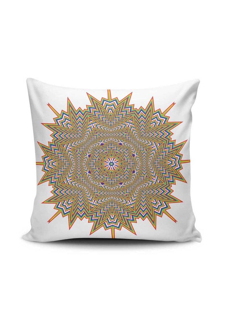 Leunelle Husa alba pentru perna decorativa cu imprimeu Mandala