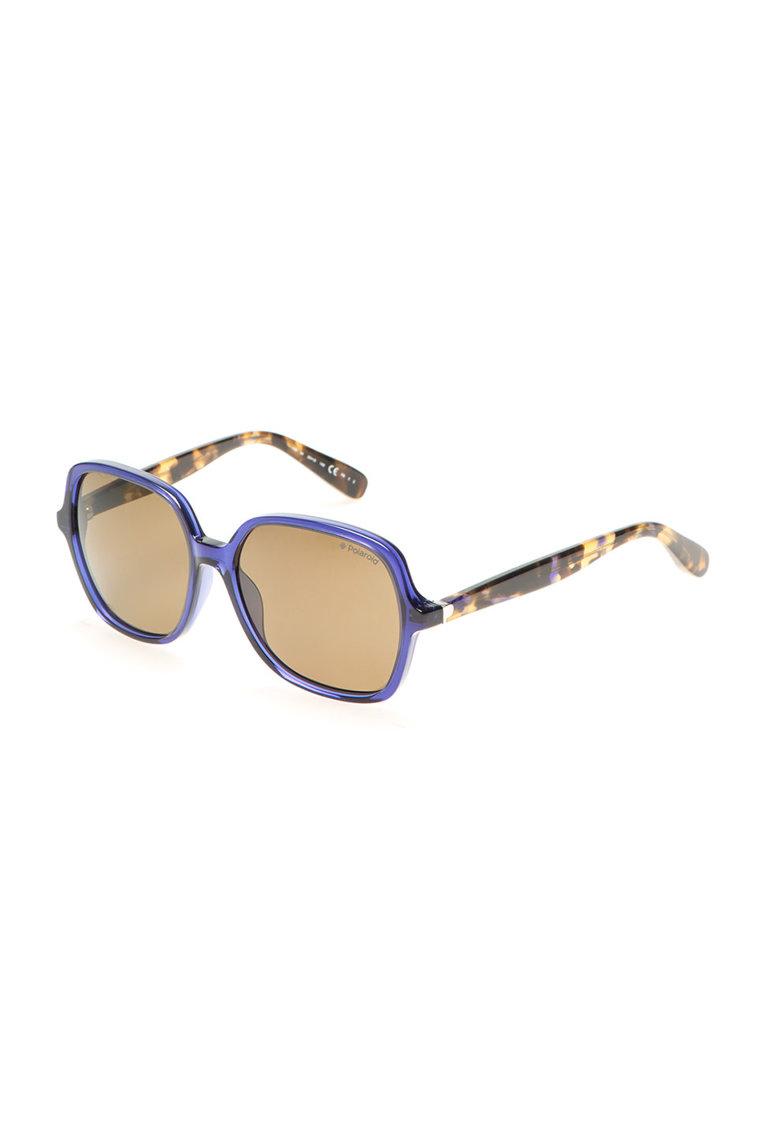 Polaroid Ochelari de soare albastru cu maro cu lentile Ultrasight™