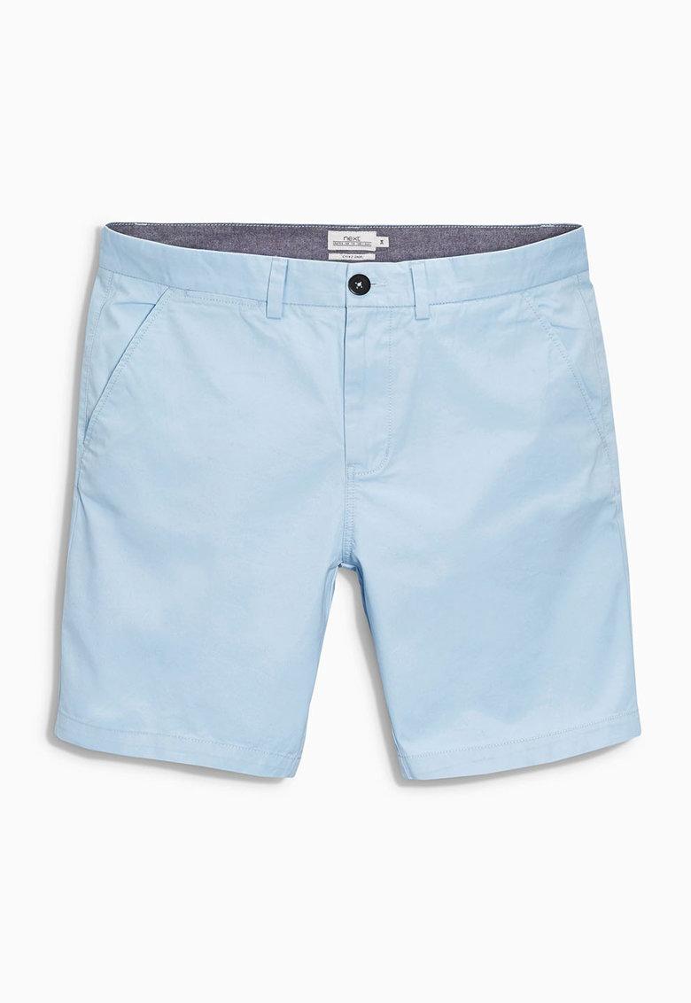 NEXT Bermude chino albastru pastel