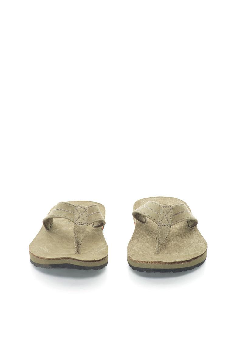 Papuci flip-flop de piele Edgemont