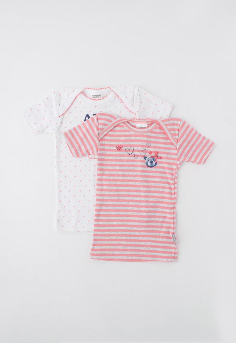 Absorba Set tricolor de tricouri cu imprimeu – 2 piese