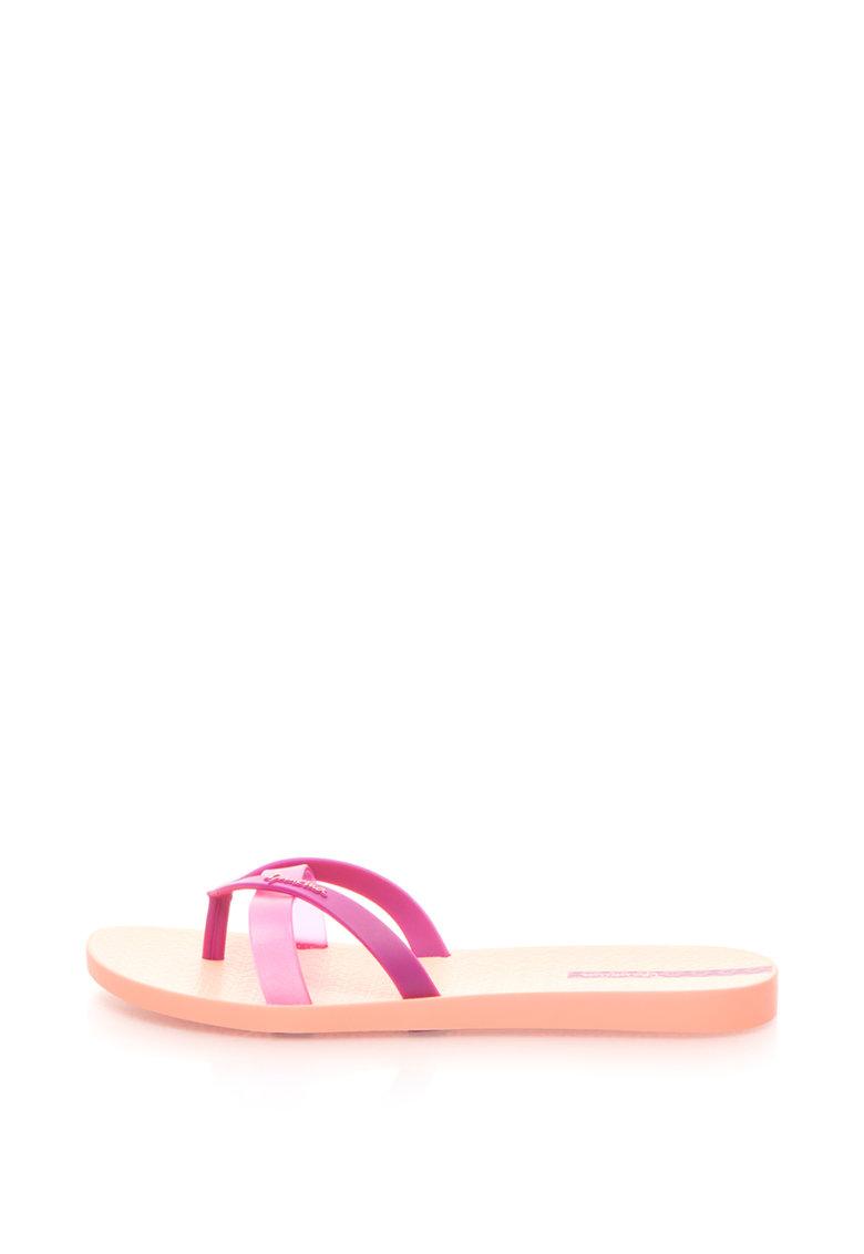 Ipanema Papuci flip-flop cu design suprapus Kirei