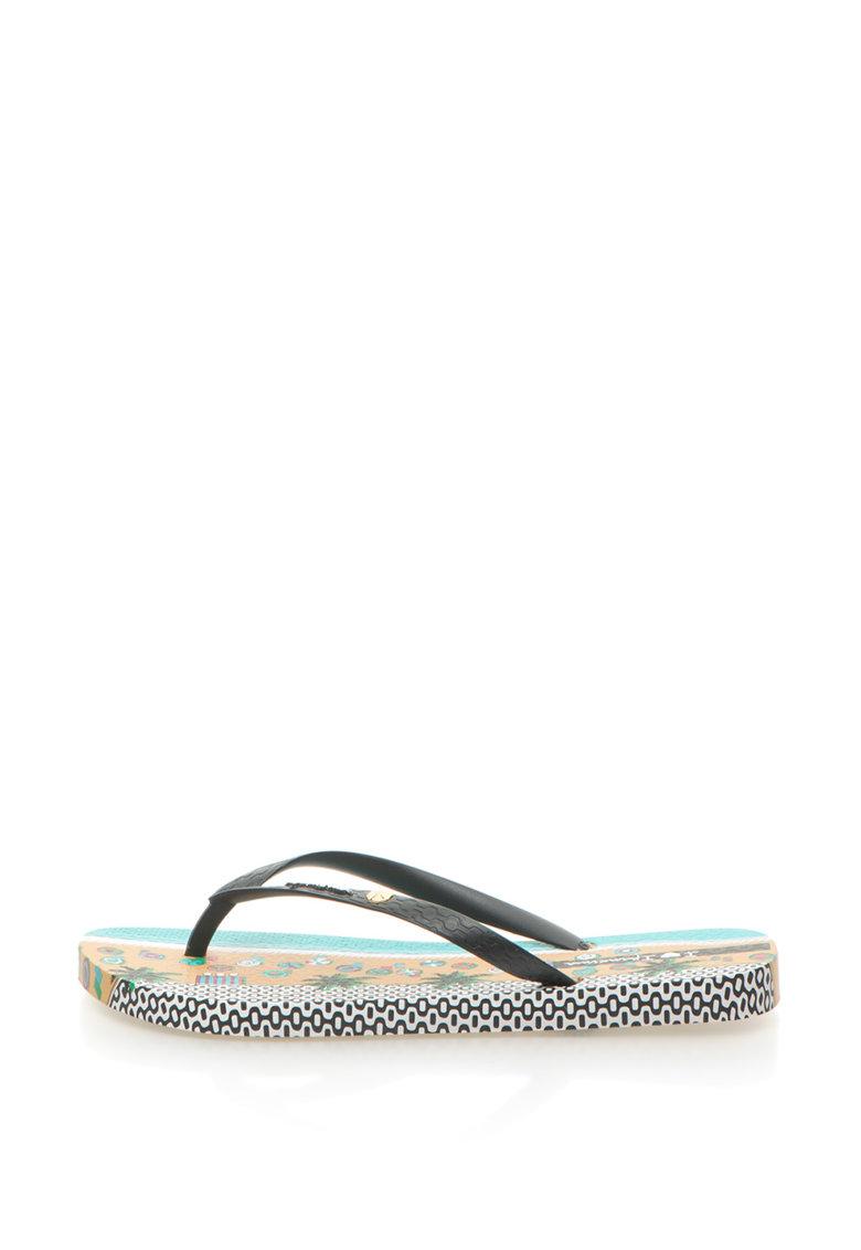 Ipanema Papuci flip-flop cu imprimeu tropical