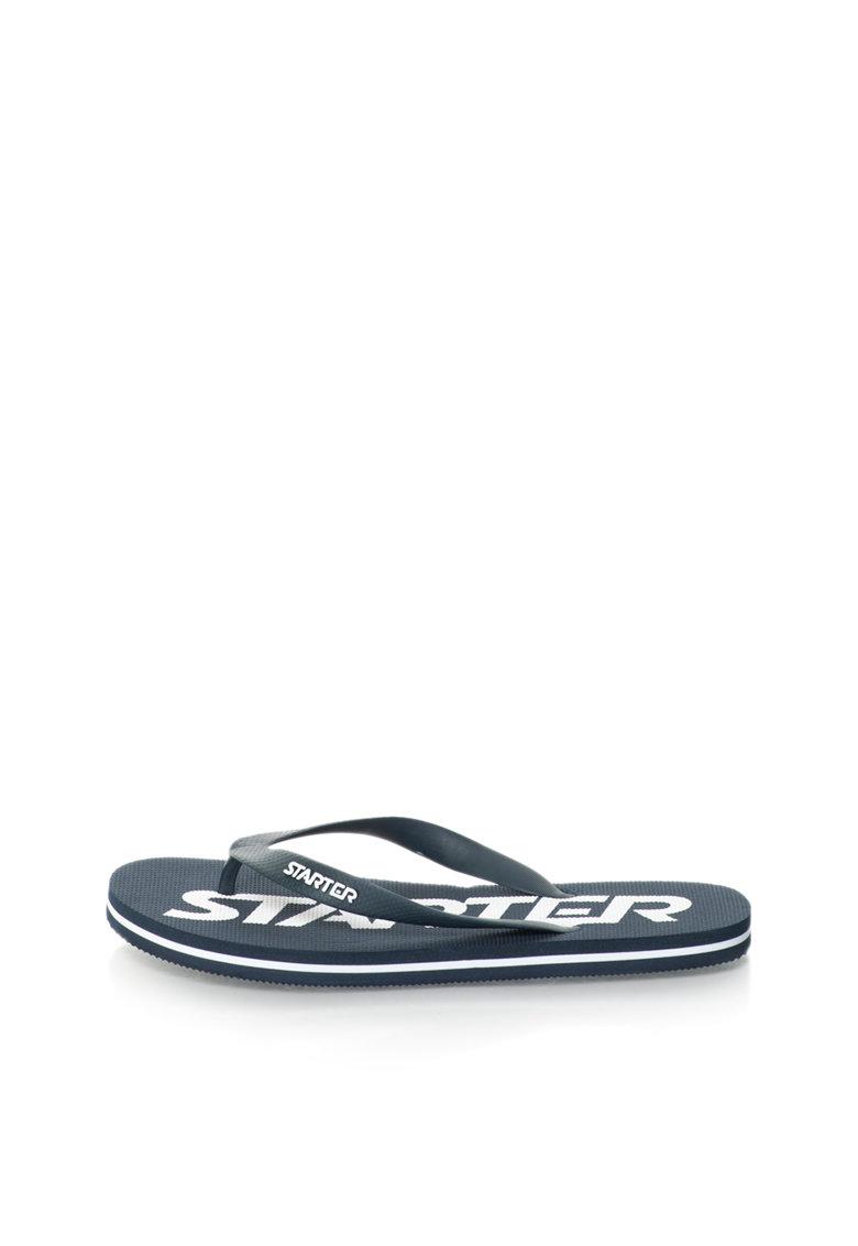 Starter Papuci flip-flop bleumarin inchis cu logo Phoenix