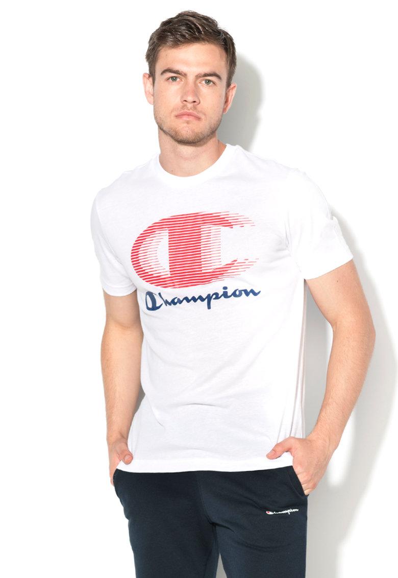 Tricou easy fit alb Champion