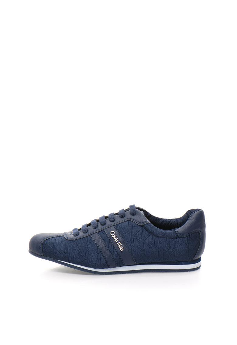 Calvin Klein Pantofi casual bleumarin cu model logo George