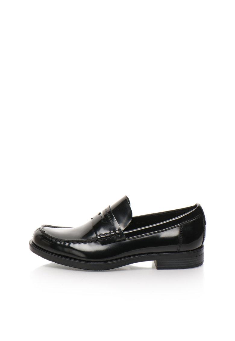 Pantofi loafer negri cu finisaj neted Yonah de la Calvin Klein Jeans