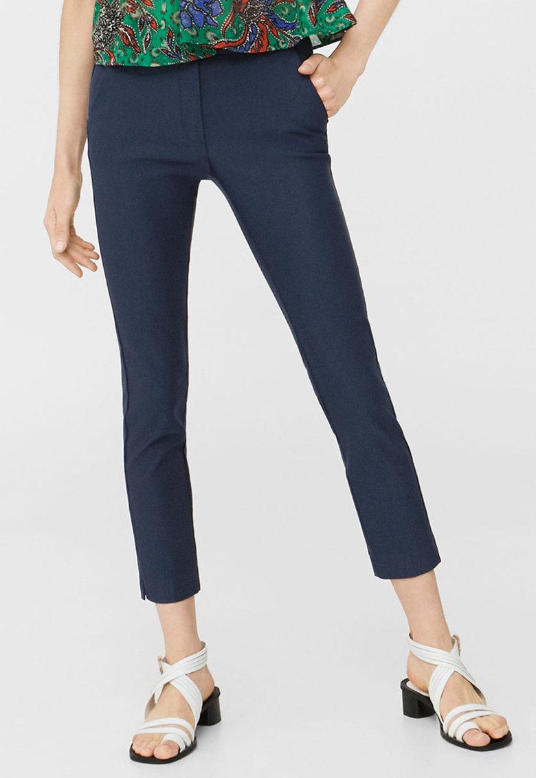 Pantaloni skinny bleumarin Cola