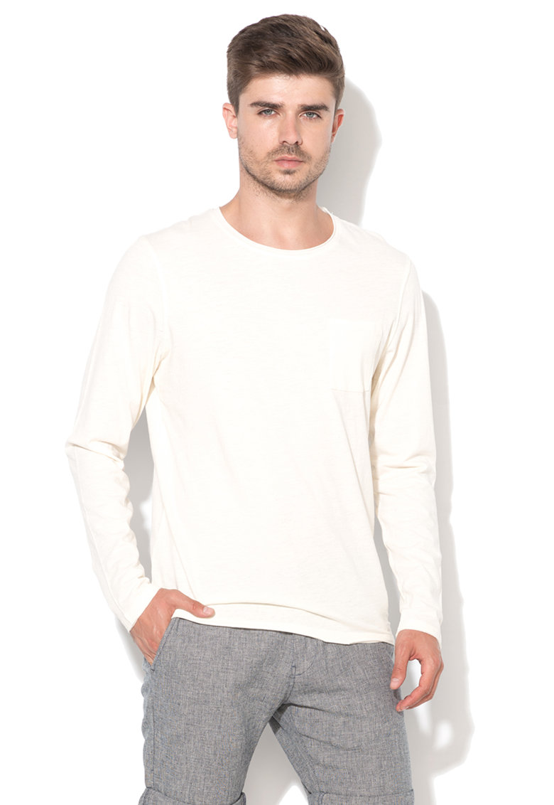 Selected Homme Bluza alb unt Cliff
