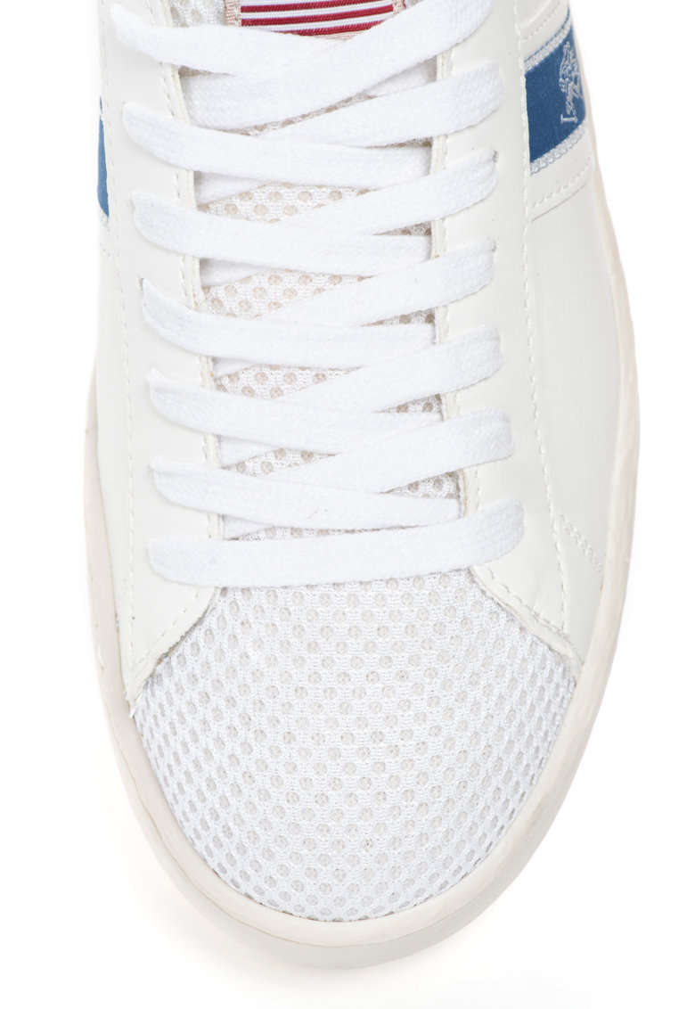 US Polo Assn US POLO – Pantofi sport de piele sintetica cu insertie de plasa Rafa Club
