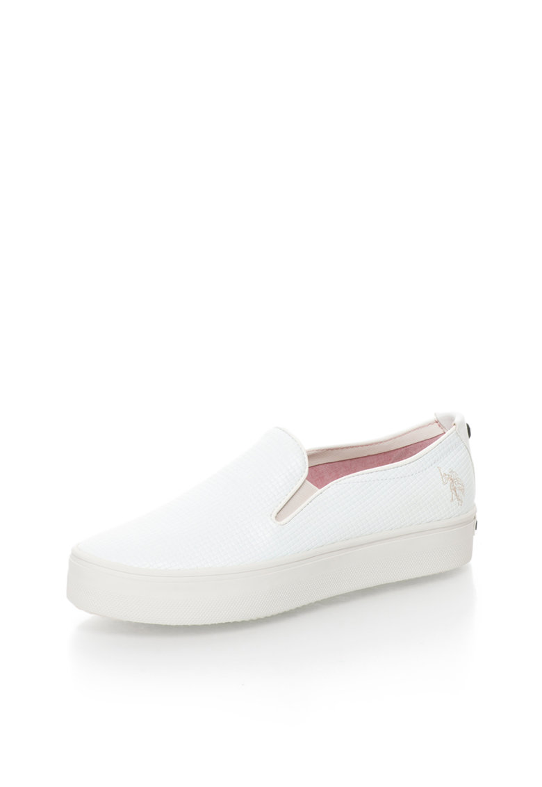 US Polo Assn US POLO – Pantofi slip-on flatform Richelle