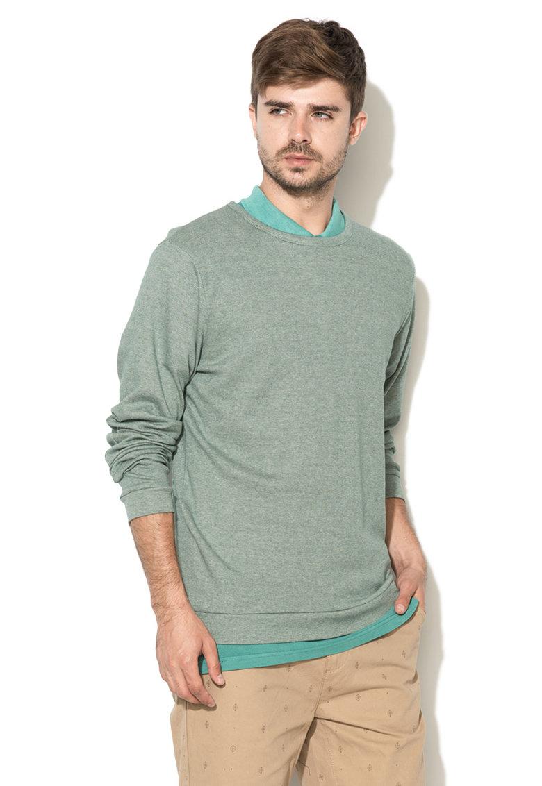 GREYSTONE Bluza sport verde melange
