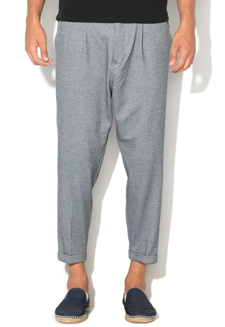 GUESS JEANS Pantaloni baggy cu terminatii rasucite