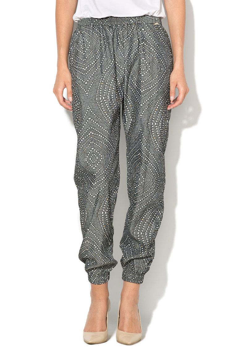 GUESS JEANS Pantaloni cu amestec de modal