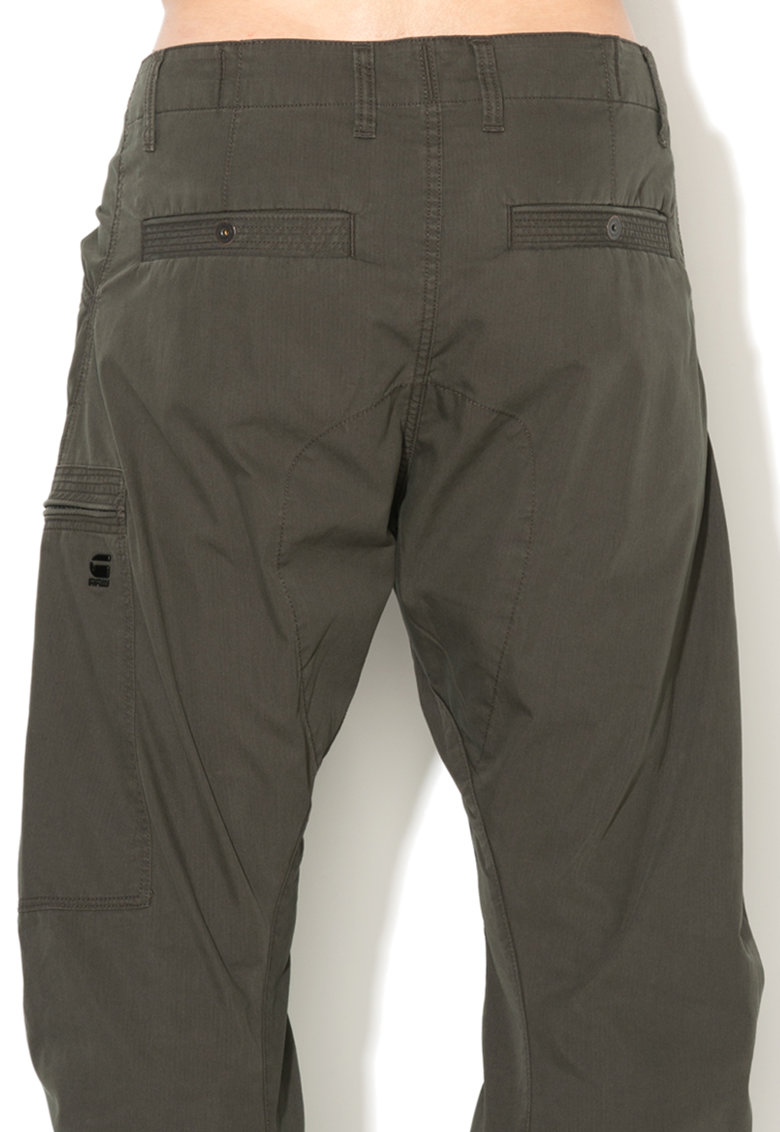 G-Star Raw Pantaloni cargo conici cu mansete Powel 3D