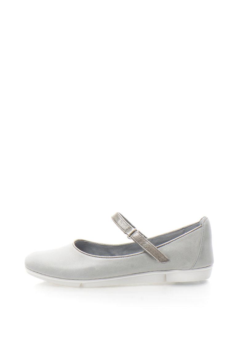 Clarks Pantofi Mary Jane de piele Tri Axis