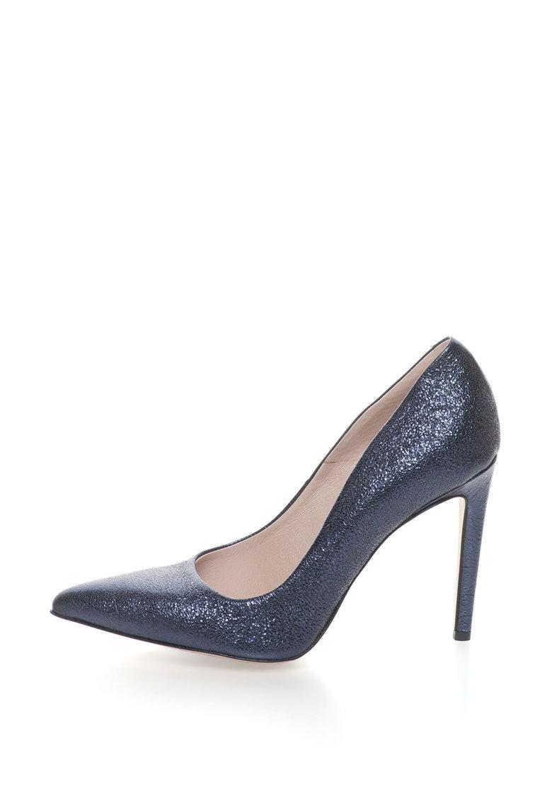 Gino Rossi Pantofi stiletto de piele cu varf ascutit Ingrid