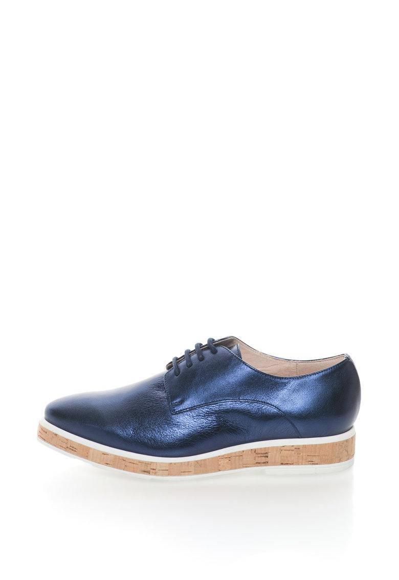 Pantofi flatform de piele Inari