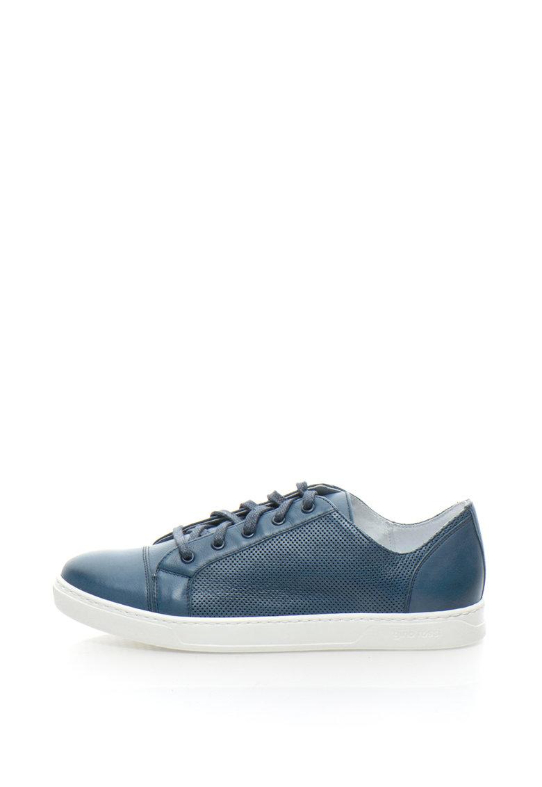 Gino Rossi Pantofi casual de piele cu perforatii Dex
