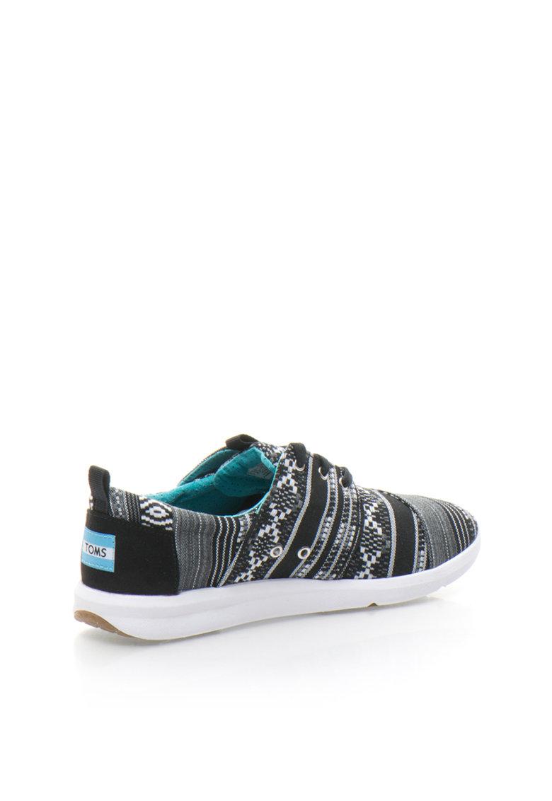 TOMS Pantofi sport de panza cu model etnic Del Rey