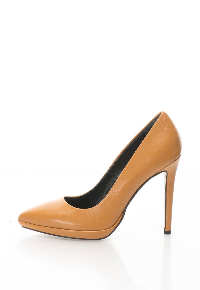 Zee Lane Pantofi stiletto de piele Camelia