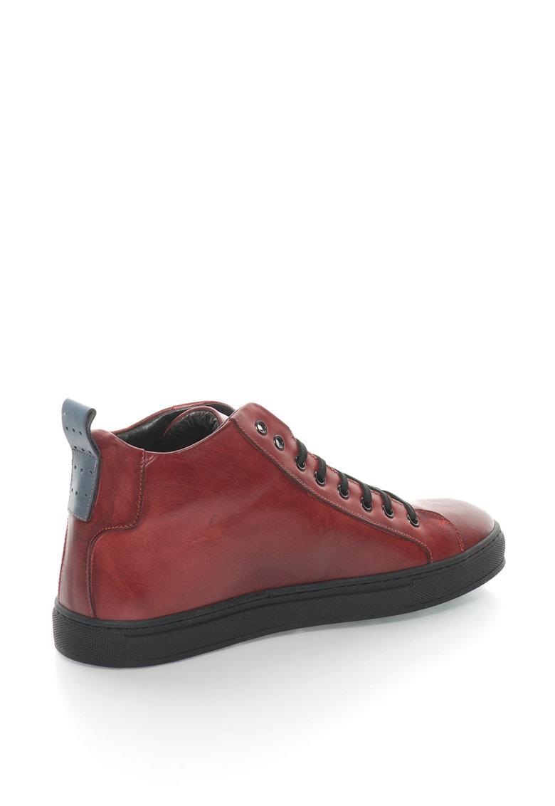 Zee Lane Pantofi sport mid-hi de piele