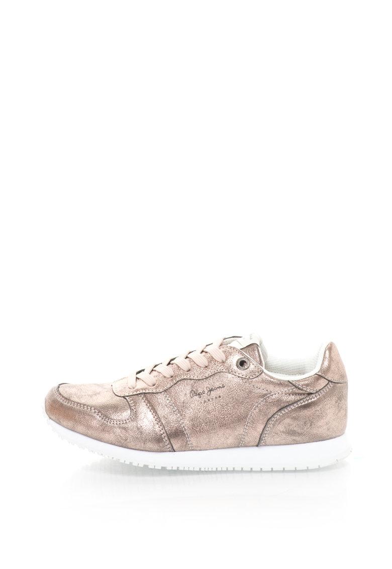 Pepe Jeans Pantofi sport de piele sintetica Gable