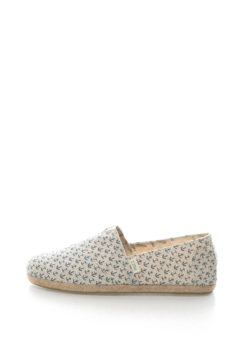 Paez Espadrile cu model nautic Original Raw