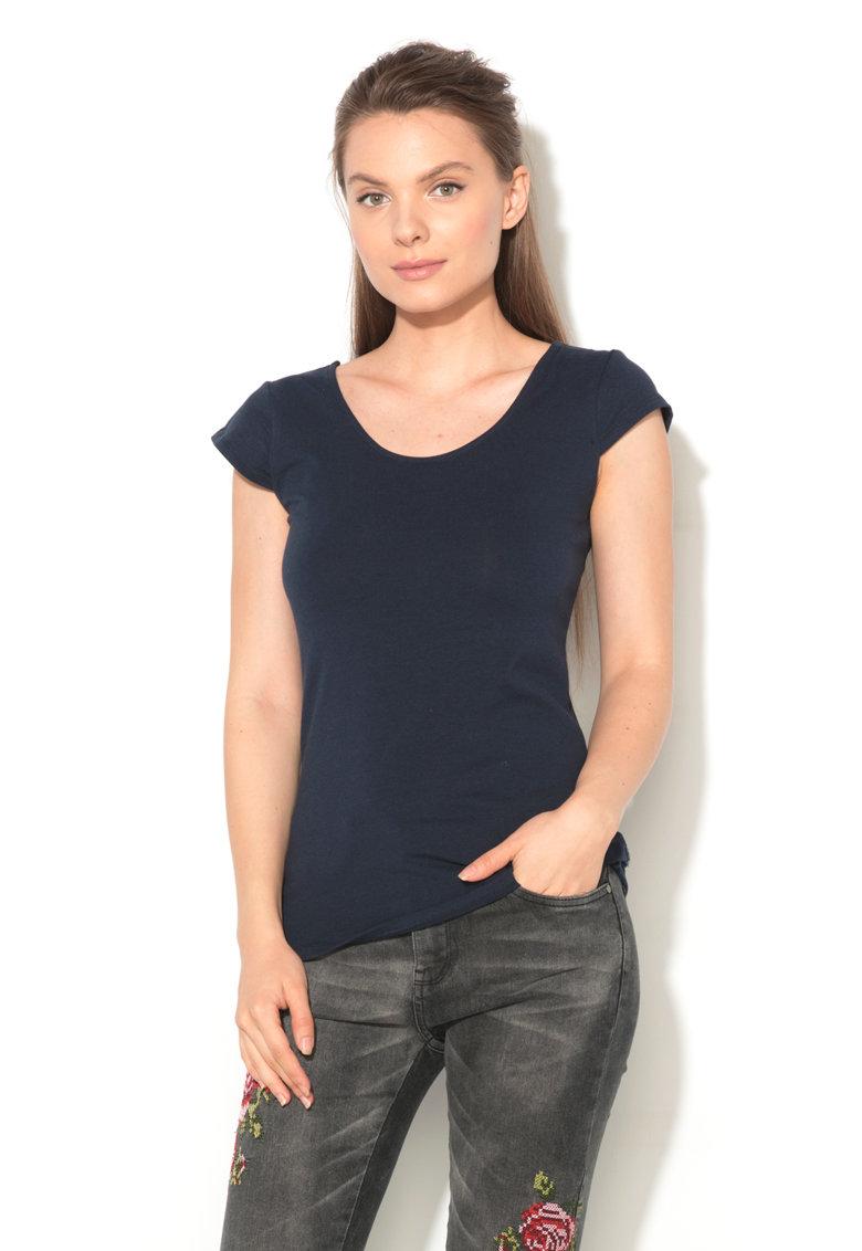 Hailys Haily's – Tricou cu model incrucisat pe spate Melanie