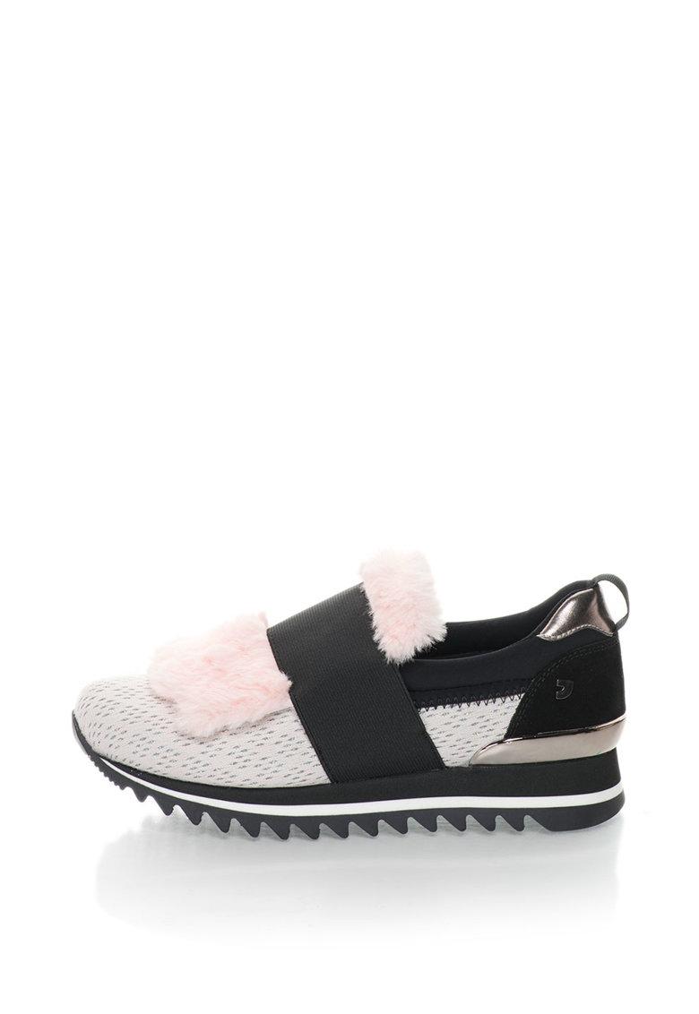Gioseppo Pantofi sport slip-on cu insertii din material teddy