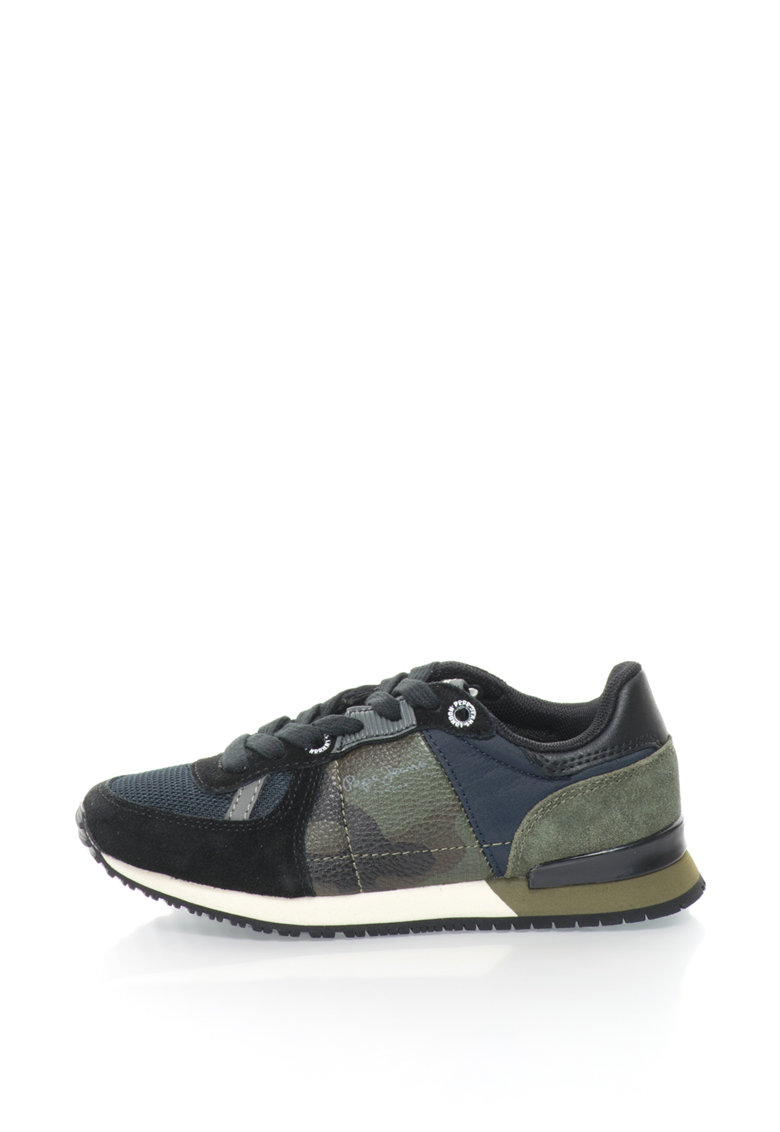 Pepe Jeans Pantofi sport cu imprimeu camuflaj Sydney