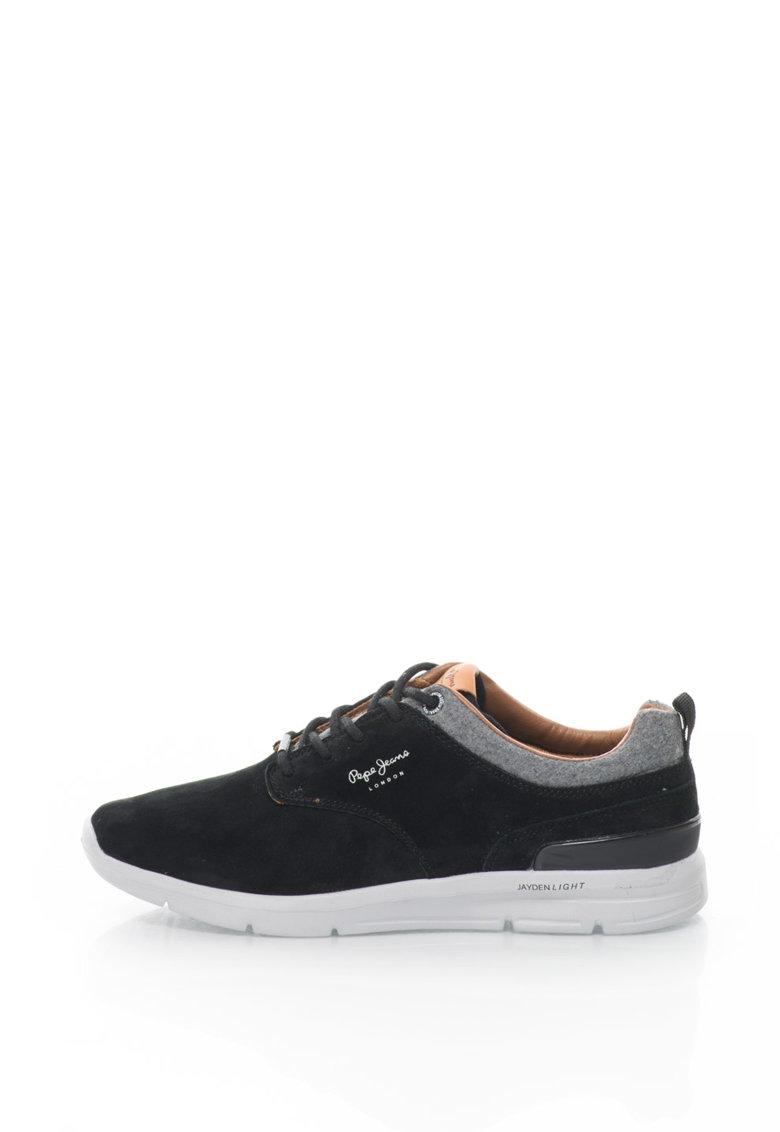 Pantofi casual de piele intoarsa Jayden de la Pepe Jeans