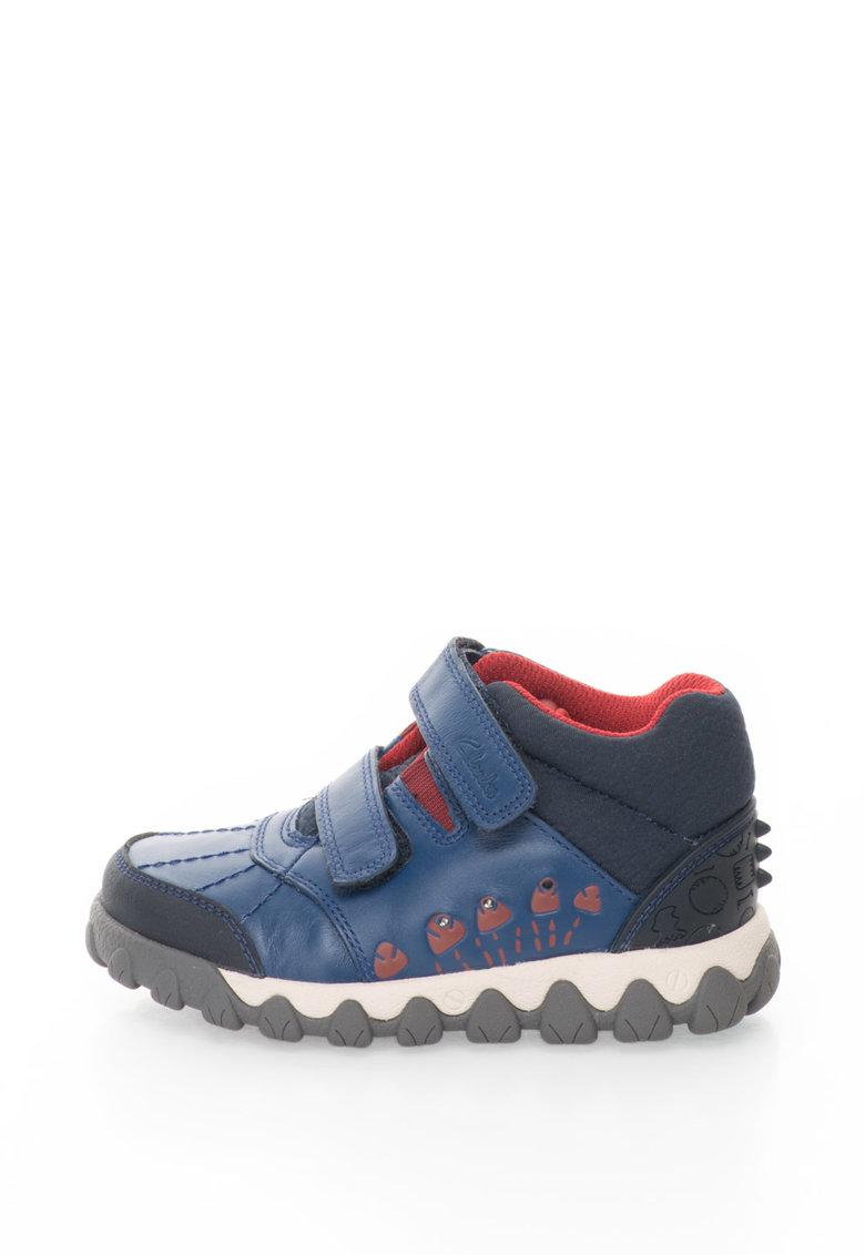Clarks Pantofi casual cu LED Tyrex Glo Inf