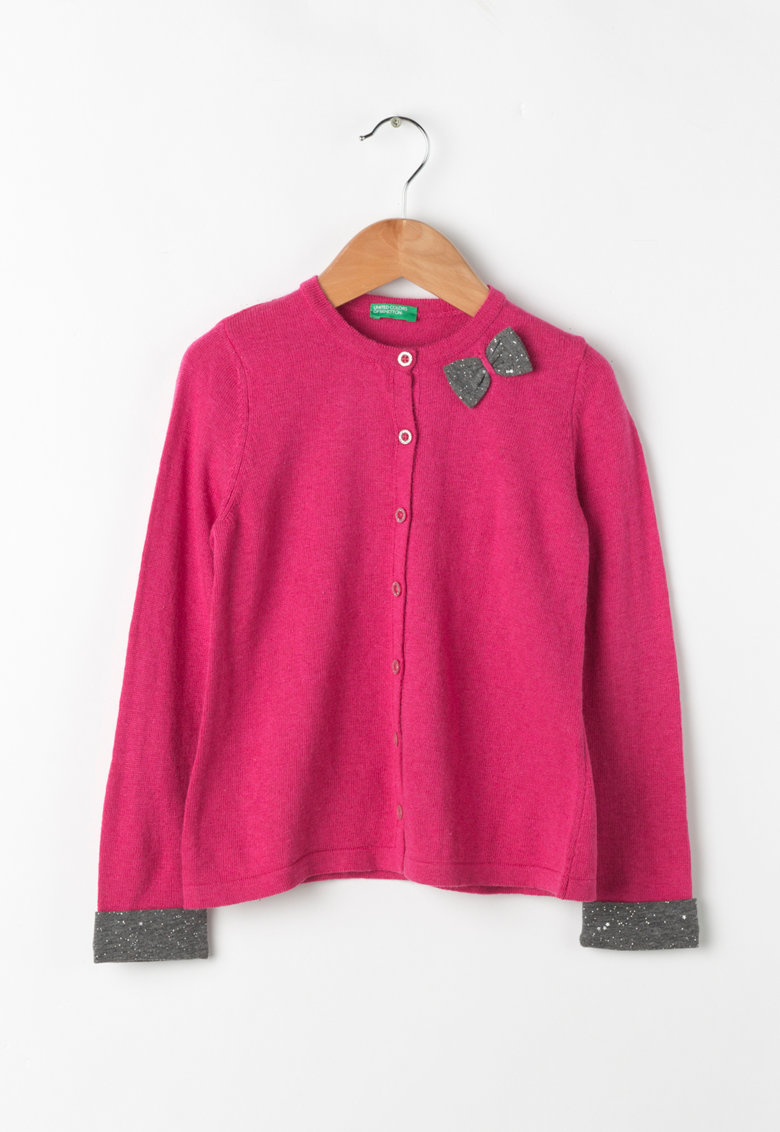 United Colors Of Benetton Cardigan cu funda decorativa