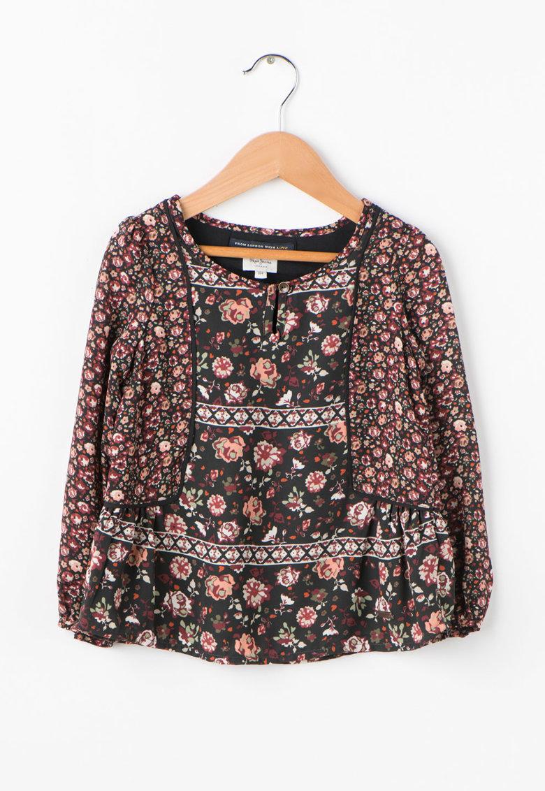 Pepe Jeans London Bluza cu imprimeu floral Tiana