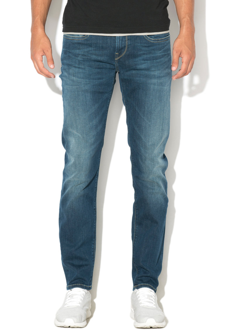 Blugi slim fit Hatch de la Pepe Jeans London