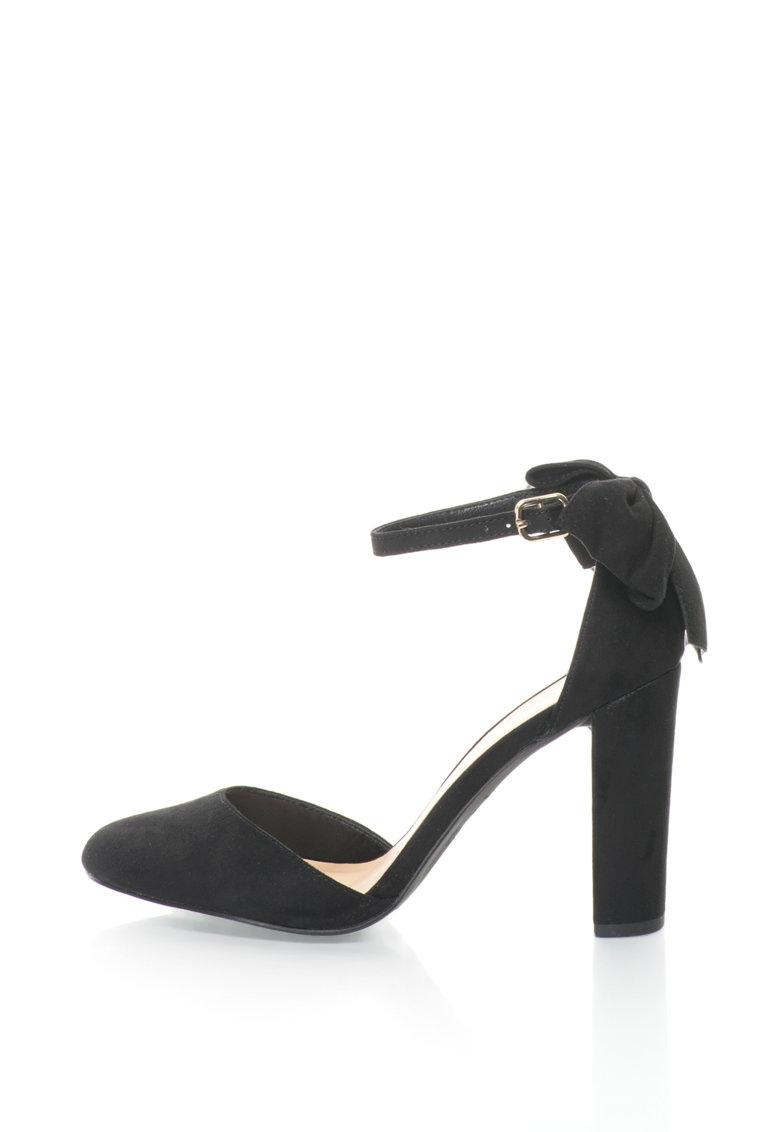 New Look Pantofi D'Orsay cu toc masiv