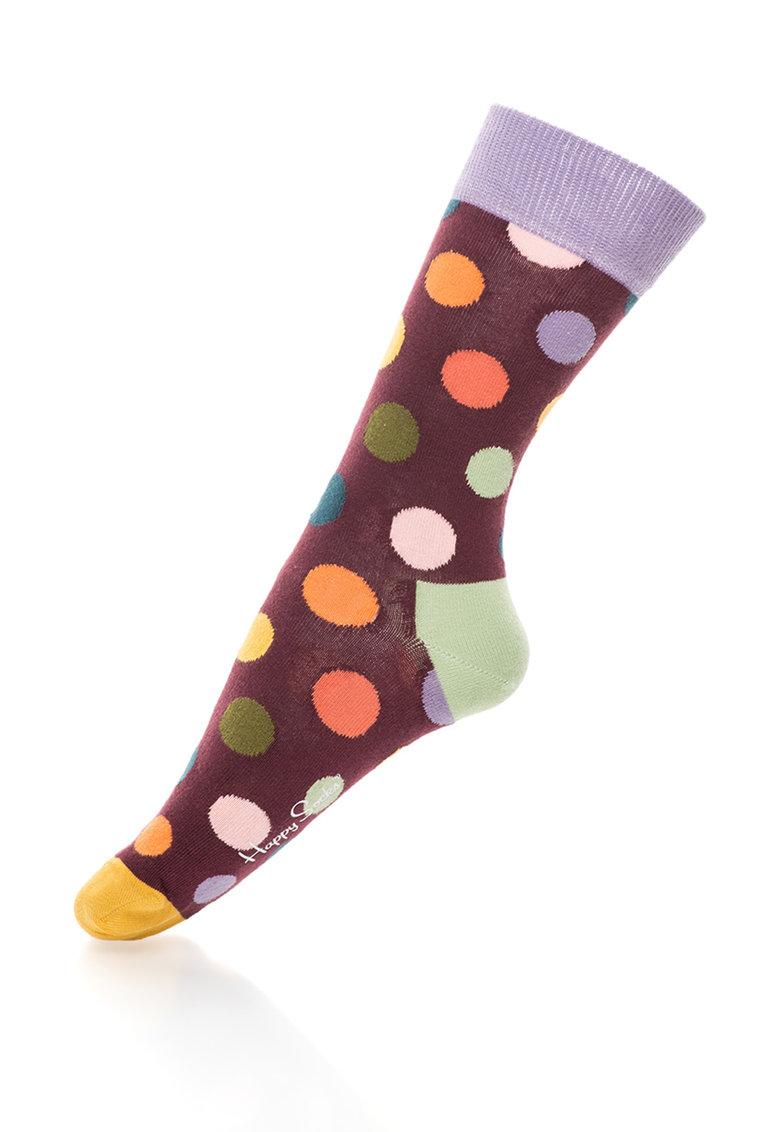 Happy Socks Sosete 3/4 cu buline Big