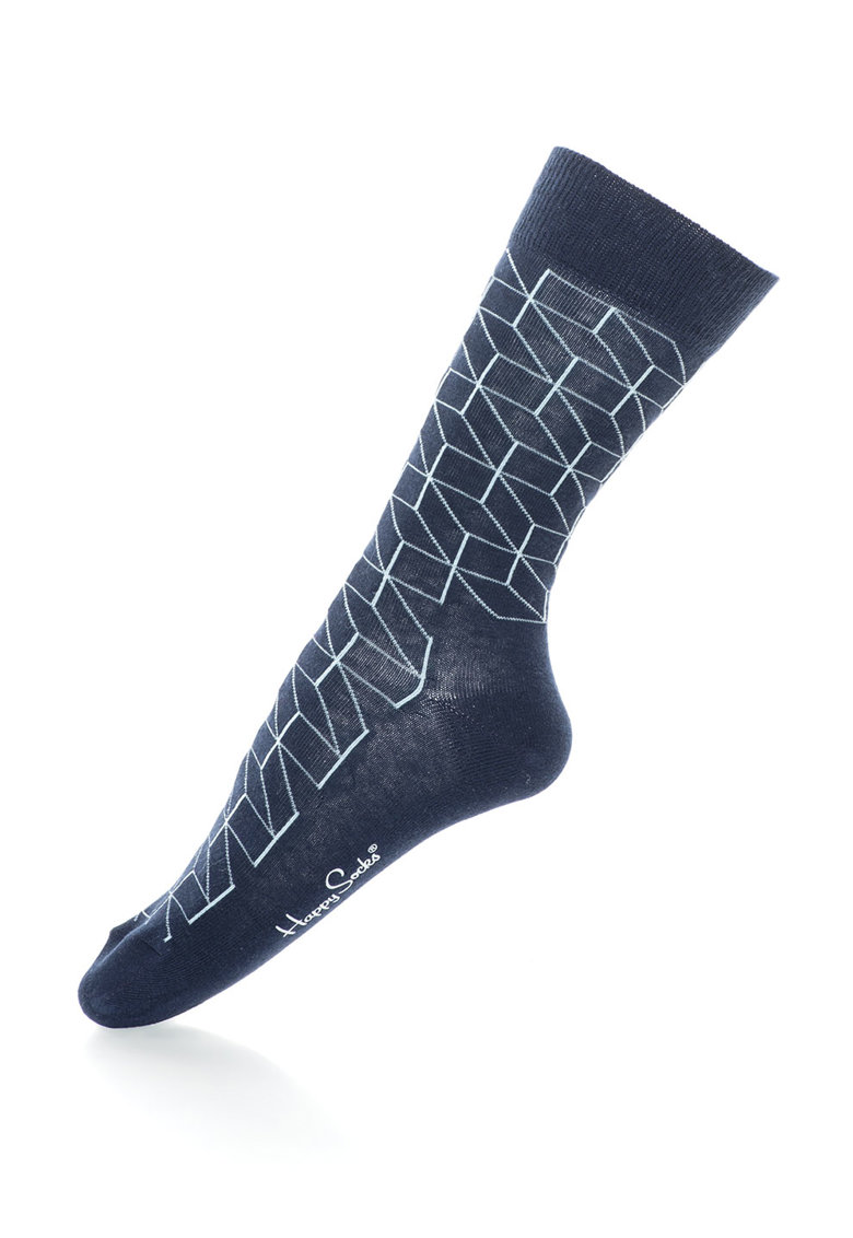 Happy Socks Sosete 3/4 unisex Optic