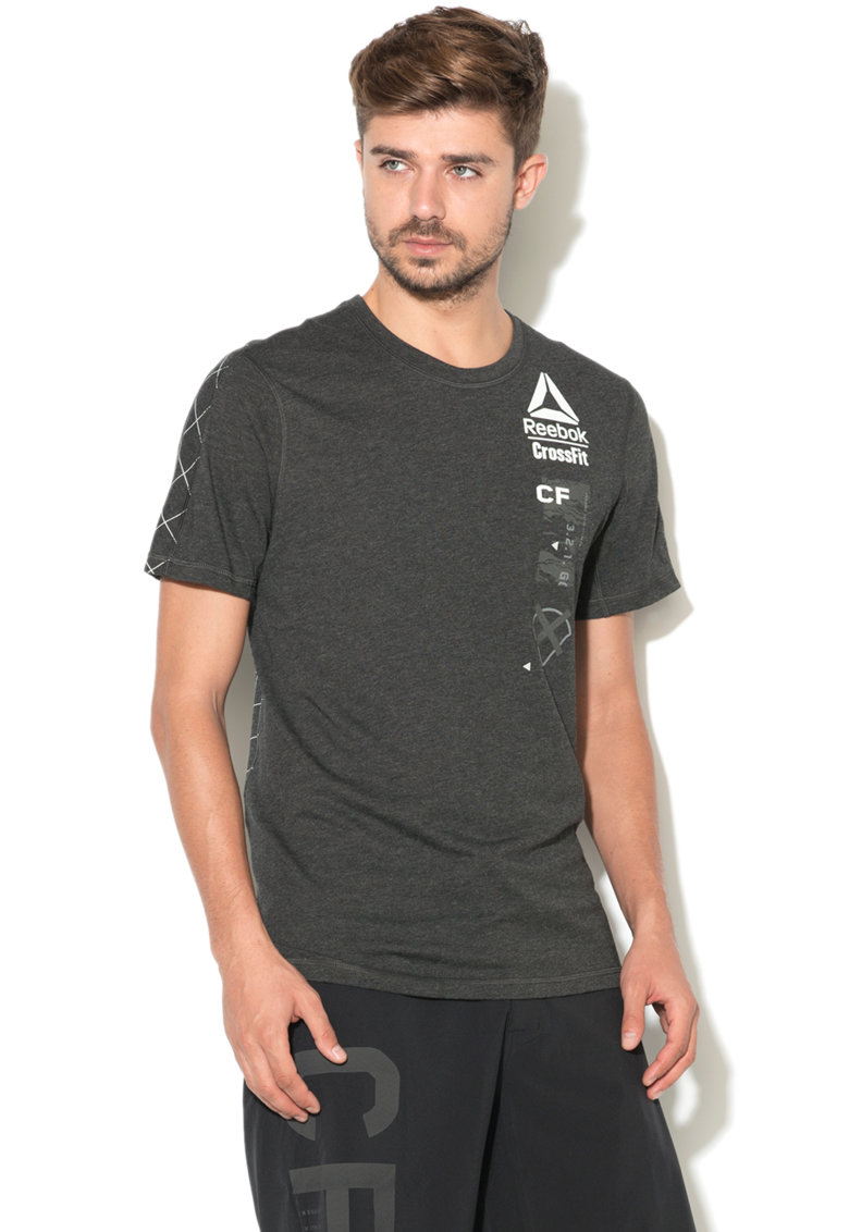 Tricou cu logo CrossFit de la Reebok