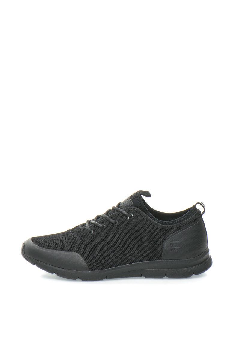 G-Star Raw Pantofi sport din plasa cu detalii peliculizate Grount