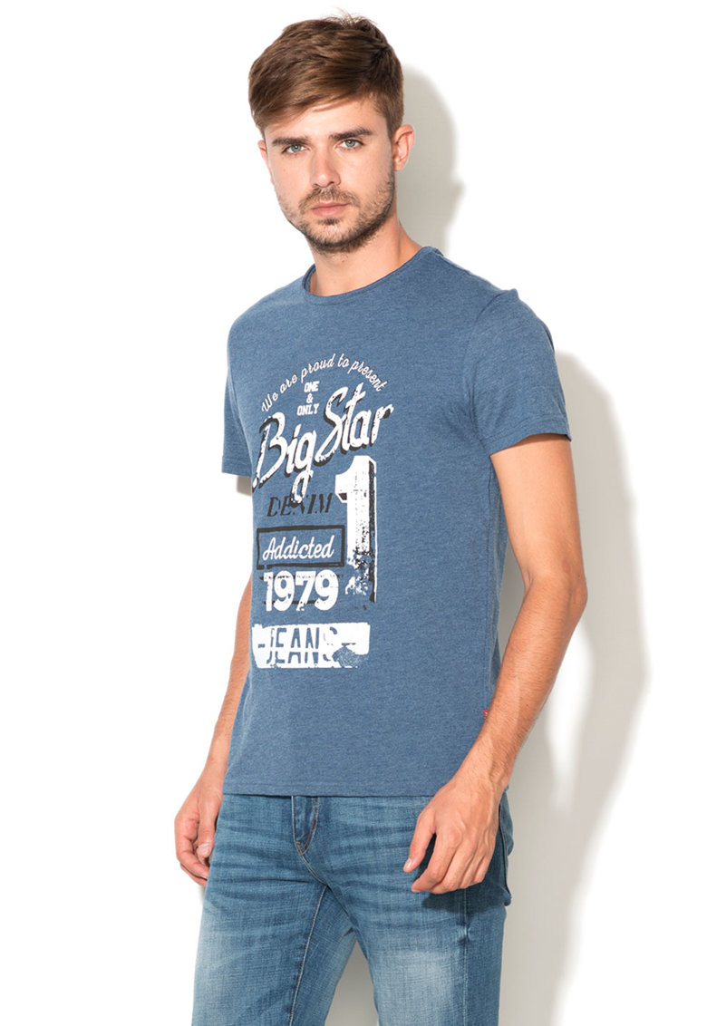 Big Star Tricou cu imprimeu text Viet