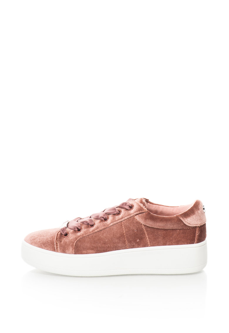 Pantofi sport flatform din catifea Bertie-V