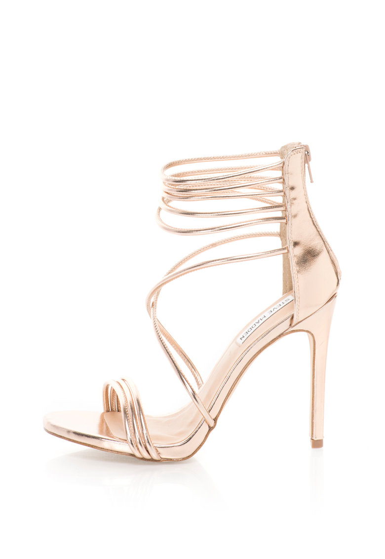 Sandale stiletto cu barete multiple Answer