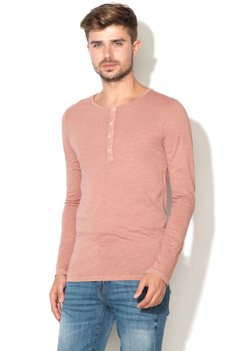 United Colors Of Benetton Bluza Henley