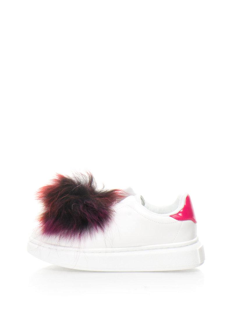 Colors of California Pantofi sport cu blana sintetica