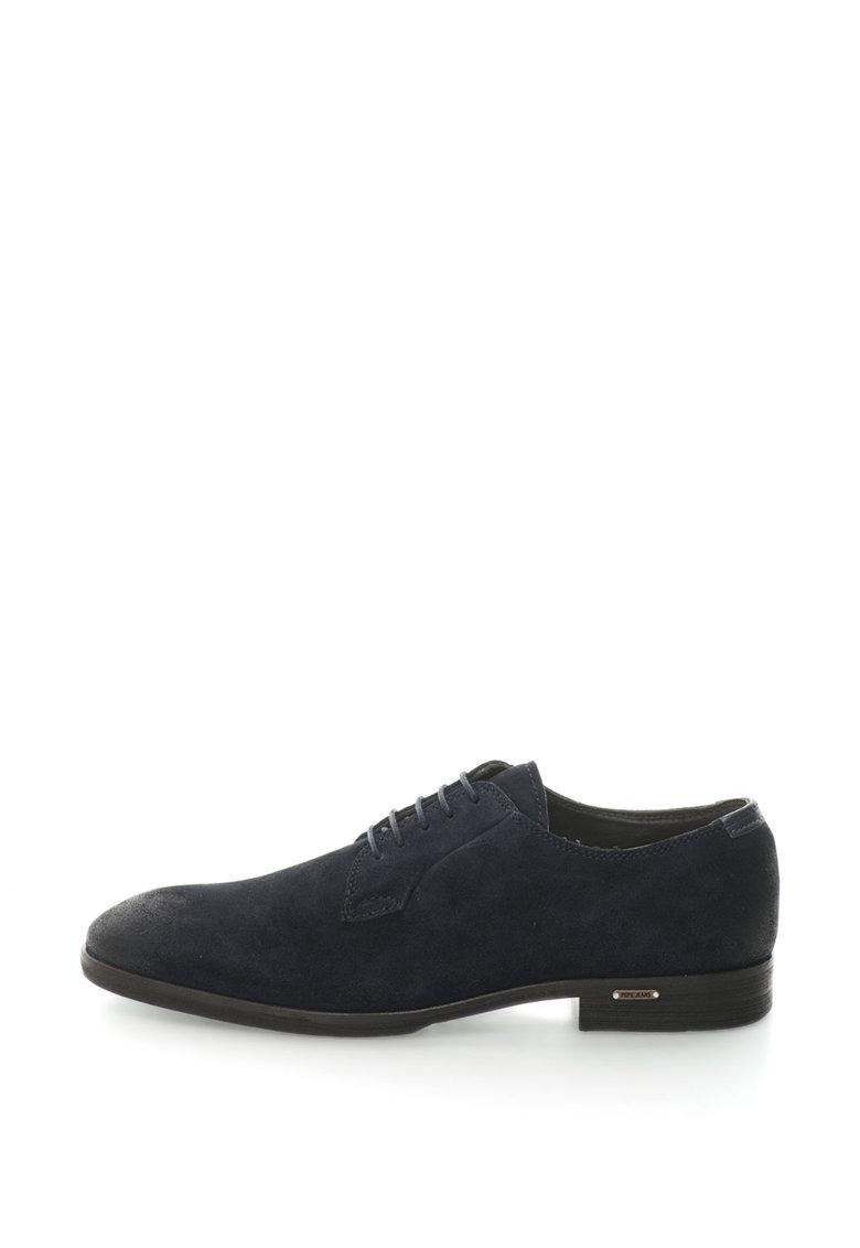 Pantofi derby de piele intoarsa cu aspect retro Rellick de la Pepe Jeans