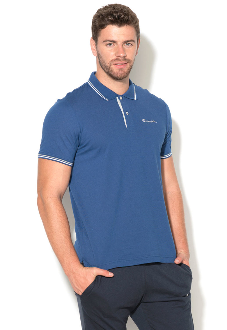 Champion Tricou polo easy fit cu logo